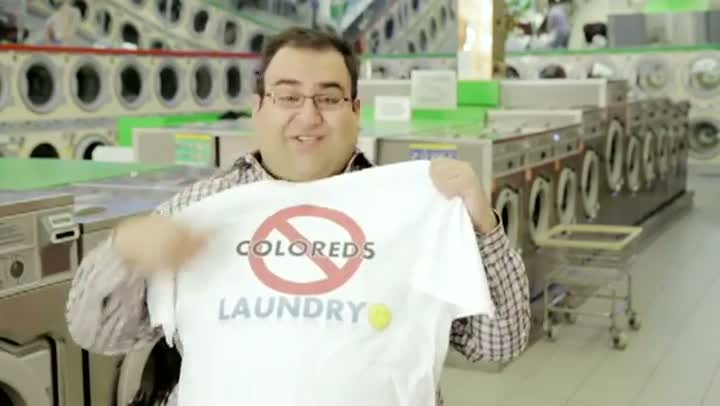Whites Only Laundry
