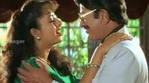 Manavudu Danavudu Scenes - Ramya Krishna trying to imitate Krishna - Soundarya, Ramya Krishna - Telugu Cinema Movies