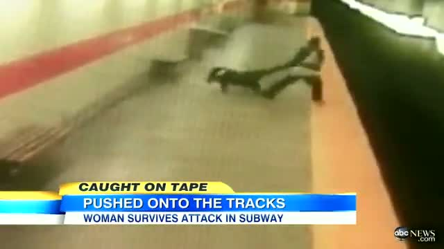 Philadelphia Subway Attack Video: Woman Punched, Dragged, Pushed Onto Subway Tracks