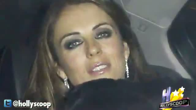 Elizabeth Hurley Loses Her Cool On Reporter