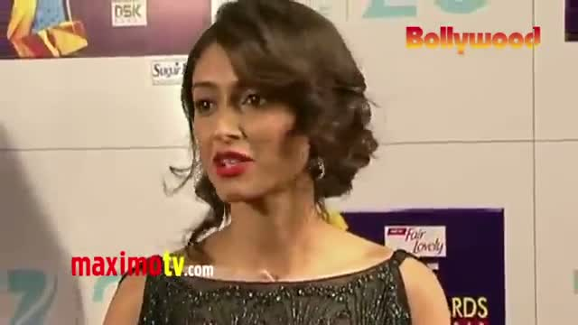 Ileana D'Cruz Interview at ZEE CINE Awards 2013 in Mumbai