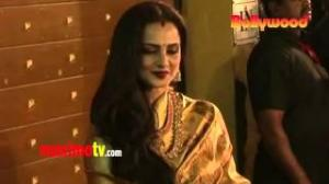 Rekha Ganesan 58th IDEA FILMFARE Awards 2013 ARRIVALS in Mumbai