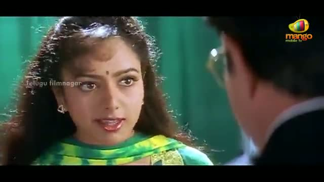 Manavudu Danavudu Scenes - Soundarya beginning to doubt Krishna - Soundarya, Ramya Krishna - Telugu Cinema Movies