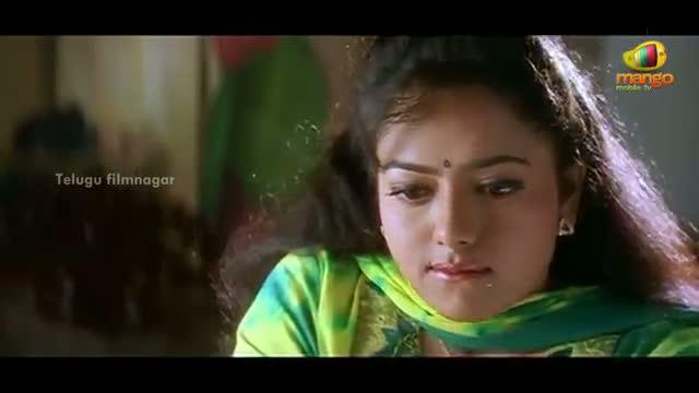 Manavudu Danavudu Scenes - Krishna trying to convince Soundarya - Soundarya, Ramya Krishna - Telugu Cinema Movies