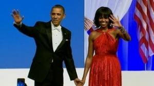 Michelle Obama Dress by Jason Wu Shines at First Couple's Inaugural Dance