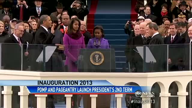 Presidential Inauguration 2013: Celebrating Democracy and People