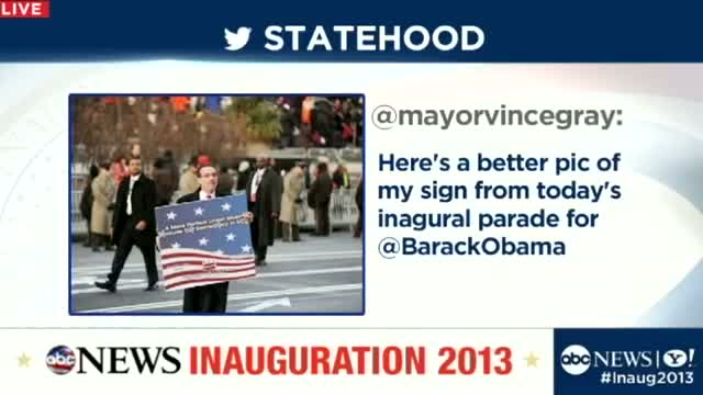 Michelle Obama Eye Roll, Obama Gum Chewing Light Up Twitter - Inauguration 2013