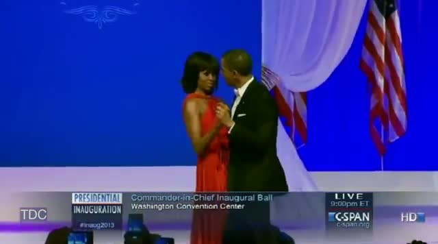 Barack and Michelle Dance at the Inaugural Ball