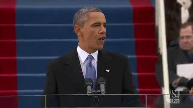 Inauguration 2013: Highlights From Obama's Speech