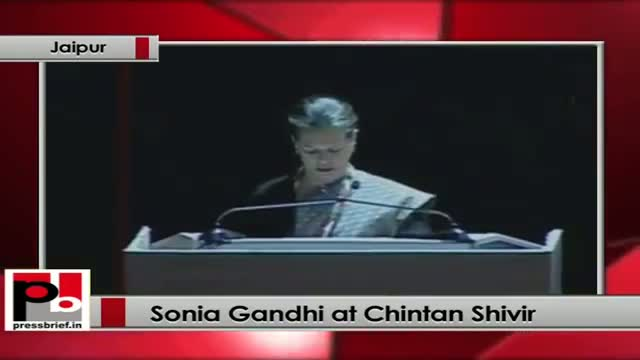 Sonia Gandhi at Chintan Shivir: Significant presence of youth reflects our priorities