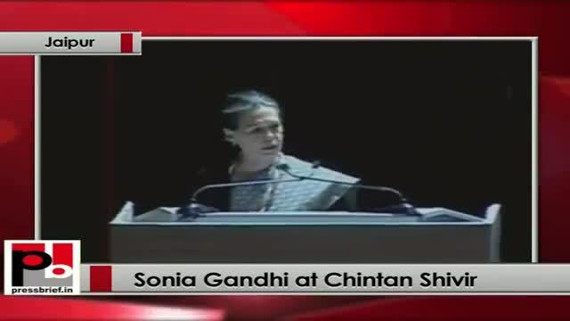 Sonia Gandhi at Chintan Shivir: Atrocities against women is a blot on our conscience