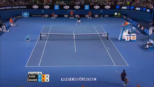 Djokovic v Wawrinka (Highlights) - Australian Open 2013