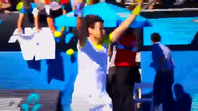 Pumped Up! - Australian Open 2013