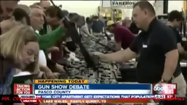 Pasco County, Florida To Tighten Gun Show Loopholes: Gun Ban Control
