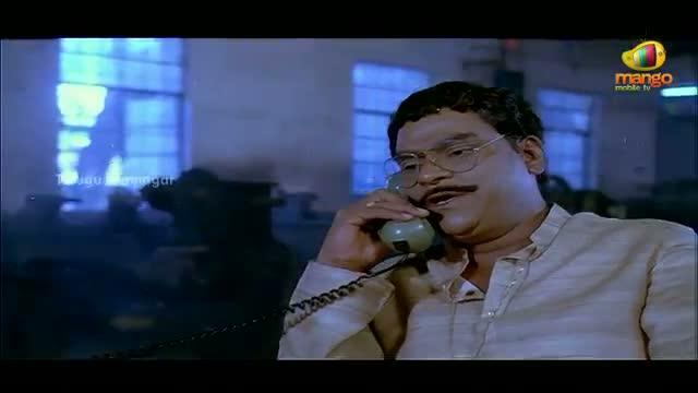 Mondi Mogudu Penki Pellam Scenes - Kota Srinivasa Rao tries to keep Suman away - Suman, Vijayashanti - Telugu Cinema Movies