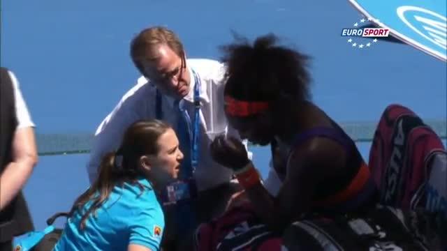 Serena Williams v Sloane Stephens Highlights - Australian Open 2013