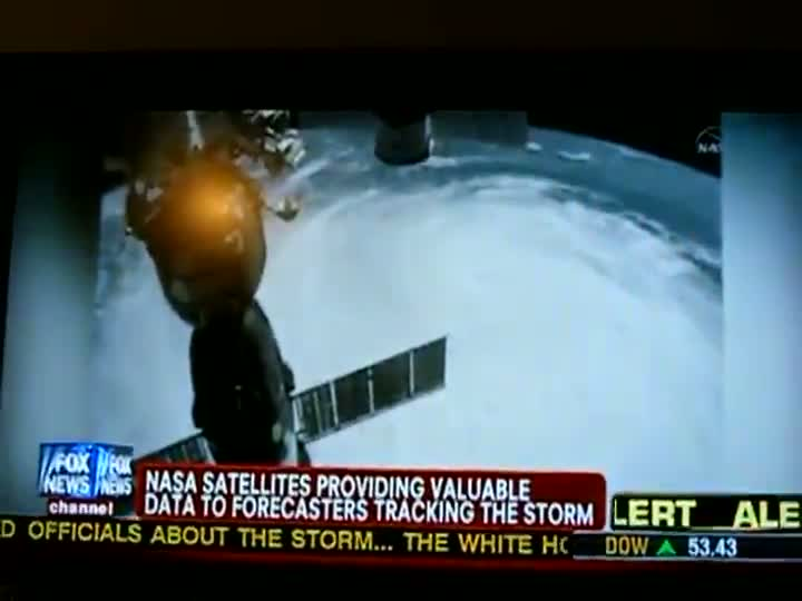 UFO Caught On Film From NASA Satellite