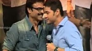 Mahesh Babu & Venkatesh Brotherhood - Highlights of SVSC Triple Platinum Disc Function - Telugu Cinema Movies
