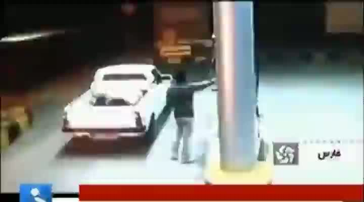 Truck Blows Up at The Gas Pump