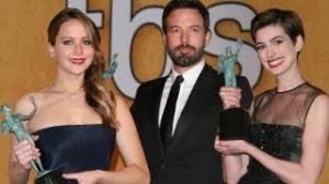 SAG Awards 2013: Winners - Jennifer Lawrence, Ben Affleck, Anne Hathaway