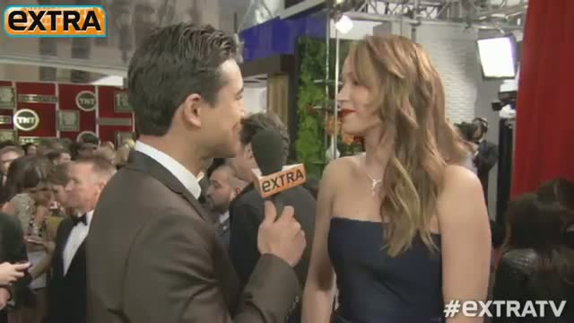 2013 SAG Awards: Jennifer Lawrence Getting Over 'Pneumonia'