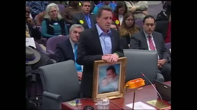 Father of Sandy Hook Victim Makes Emotional Plea