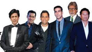 Top 20 Indian celebrities in Forbes India Magazine List