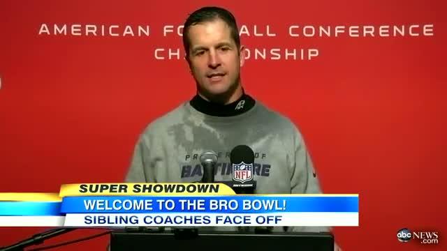 Super Bowl 2013 Baltimore Ravens Vs San Francisco 49ers: Harbaugh Brothers' Sibling Rivalry