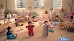 Kit Kat Dancing Babies New TVC India (Official)