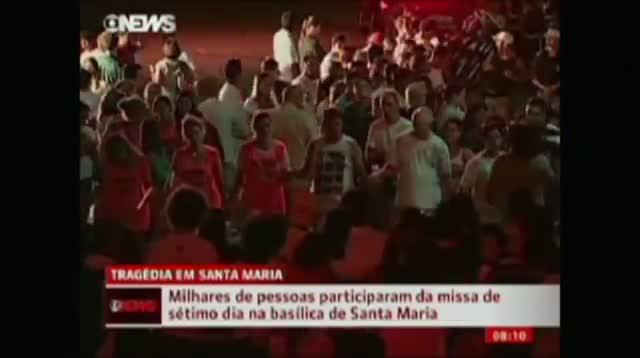 Vigil for Brazil Nightclub Fire Victims