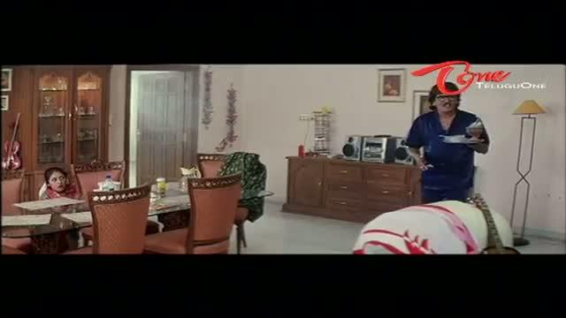Telugu Comedy Scene From Rajendra Prasad's Andagadu Movie - Rajendra Prasad Talking With Devil - Telugu Cinema Movies