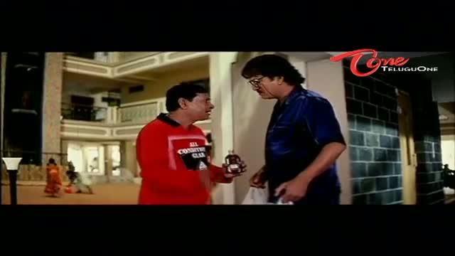 Telugu Comedy Scene From Rajendra Prasad's Andagadu Movie - Hilarious Scene Between M S Narayana & Rajendra Prasad - Telugu Cinema Movies