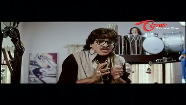 Telugu Comedy Scene From Rajendra Prasad's Andagadu Movie - Rajendra Prasad Scare Of Lady Devil In His Room - Telugu Cinema Movies