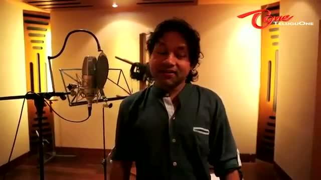 Mirchi Movie Pandagala Song Recording - Devi Sri Prasad, Kailash Kher - Telugu Cinema Movies