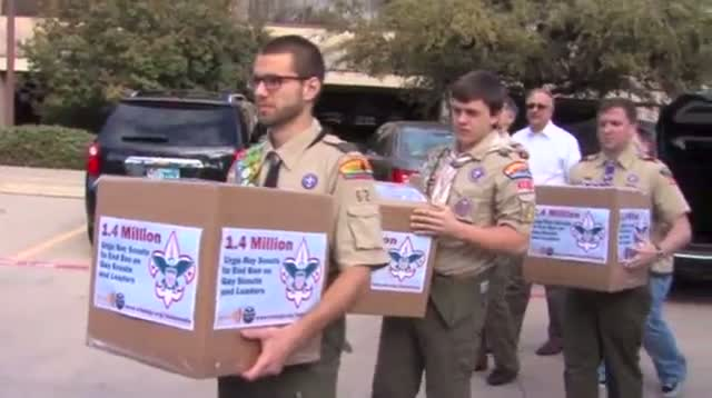 Scouts Delay Decision on Admitting Gays