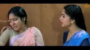 Pavitra Bandham Scenes - Soundarya feeling sad for her family - Venkatesh, Soundarya - Telugu Cinema Movies