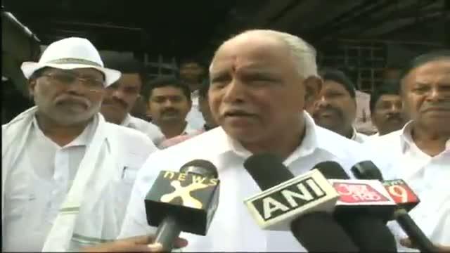 "Yeddyurappa commences ""padayatra"" in Mysore"