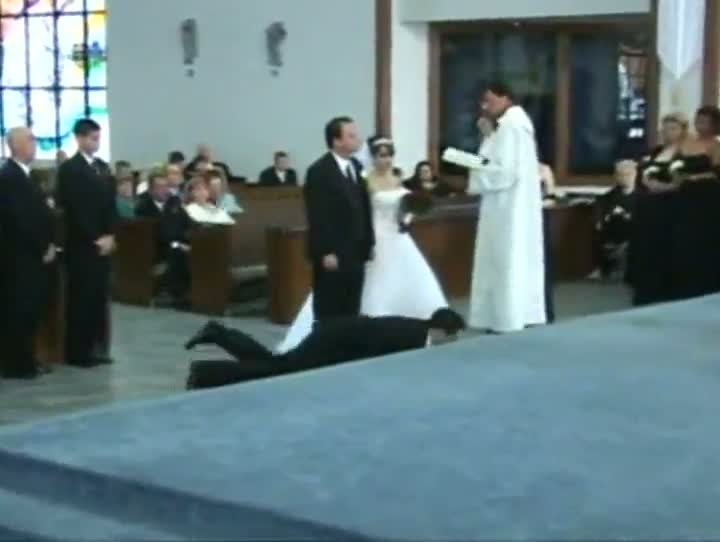 Wedding Faints, Fails and Fights