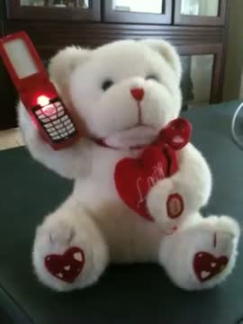 "Happy Teddy Day - Animated Teddy Bear Singing ""I Just Called To Say I Love You"" - Happy Valentines Day"