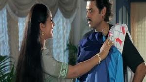 Pavitra Bandham Scenes - Soundarya disappointed by Venkatesh - Venkatesh, Soundarya - Telugu Cinema Movies