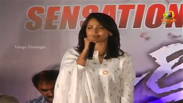 Mirchi Movie Success Meet - Anushka Speaking In Telugu - Telugu Cinema Movies