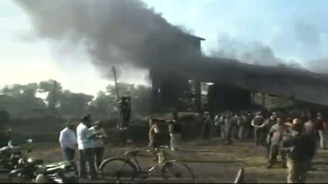 Fire in underground coal mine in Durgapur