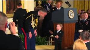 Medal of Honor's Son Steals Show