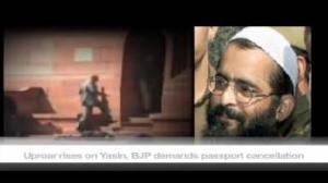 Uproar rises on Yasin, BJP demands passport cancellation