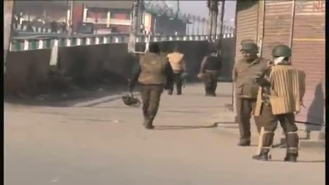 Fourth day of curfew in tension torn Kashmir