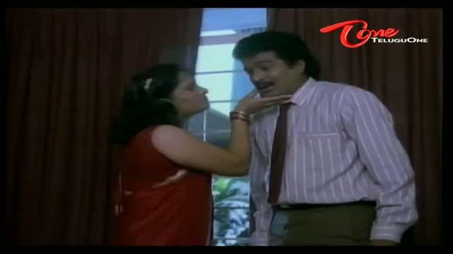Telugu Comedy Scene From Rajendra Prasad's Teneteega Movie - Rajendra Prasad Romance With Hotel Receptionist - Telugu Cinema Movies