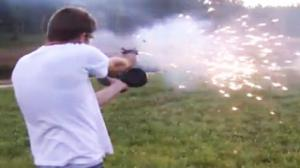 Automatic Glock Explosive Bullets