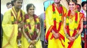Shravana Bhargavi weds Hemachandra Marriage Pics