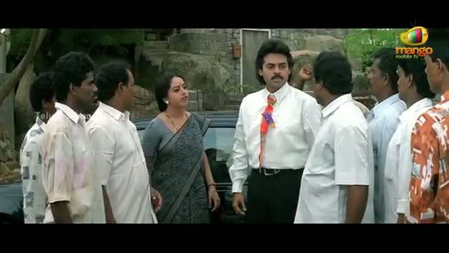Pavitra Bandham Scenes - Soundarya warns Venkatesh - Venkatesh, Soundarya - Telugu Cinema Movies