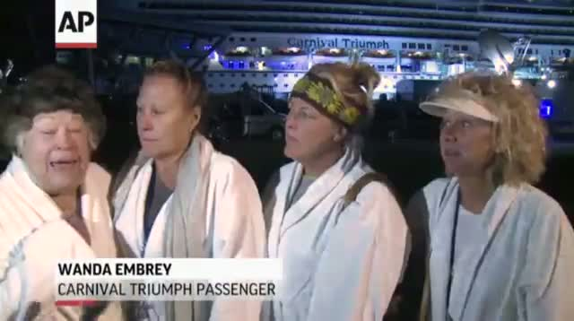 Triumph Passengers: 'Truth or Dare' to Pass Time